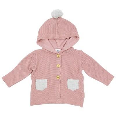 So Bunny Knit Jacket - Pink
