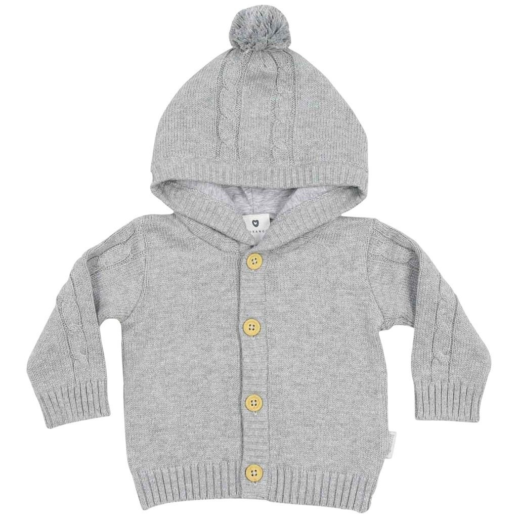 Cables n Class Lined Jacket - Grey