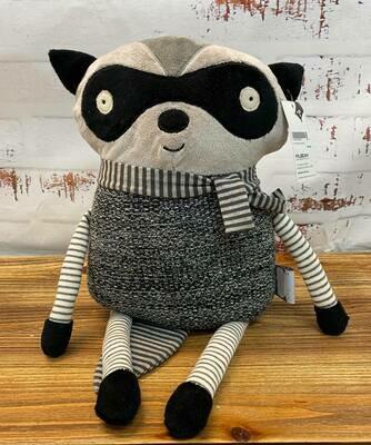 Grey Raccoon Cushion