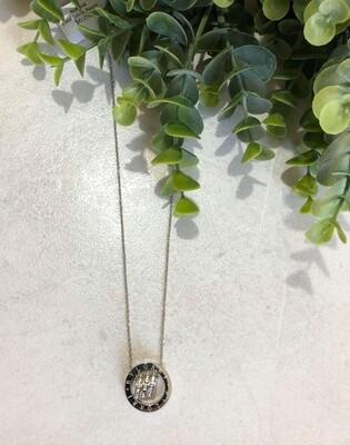 Crystal Silver Necklace