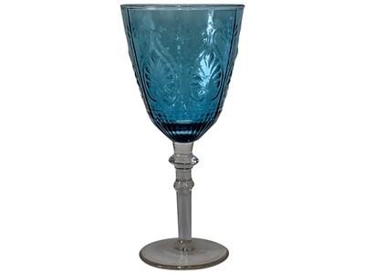 Wine Glass Carribean Sapphire