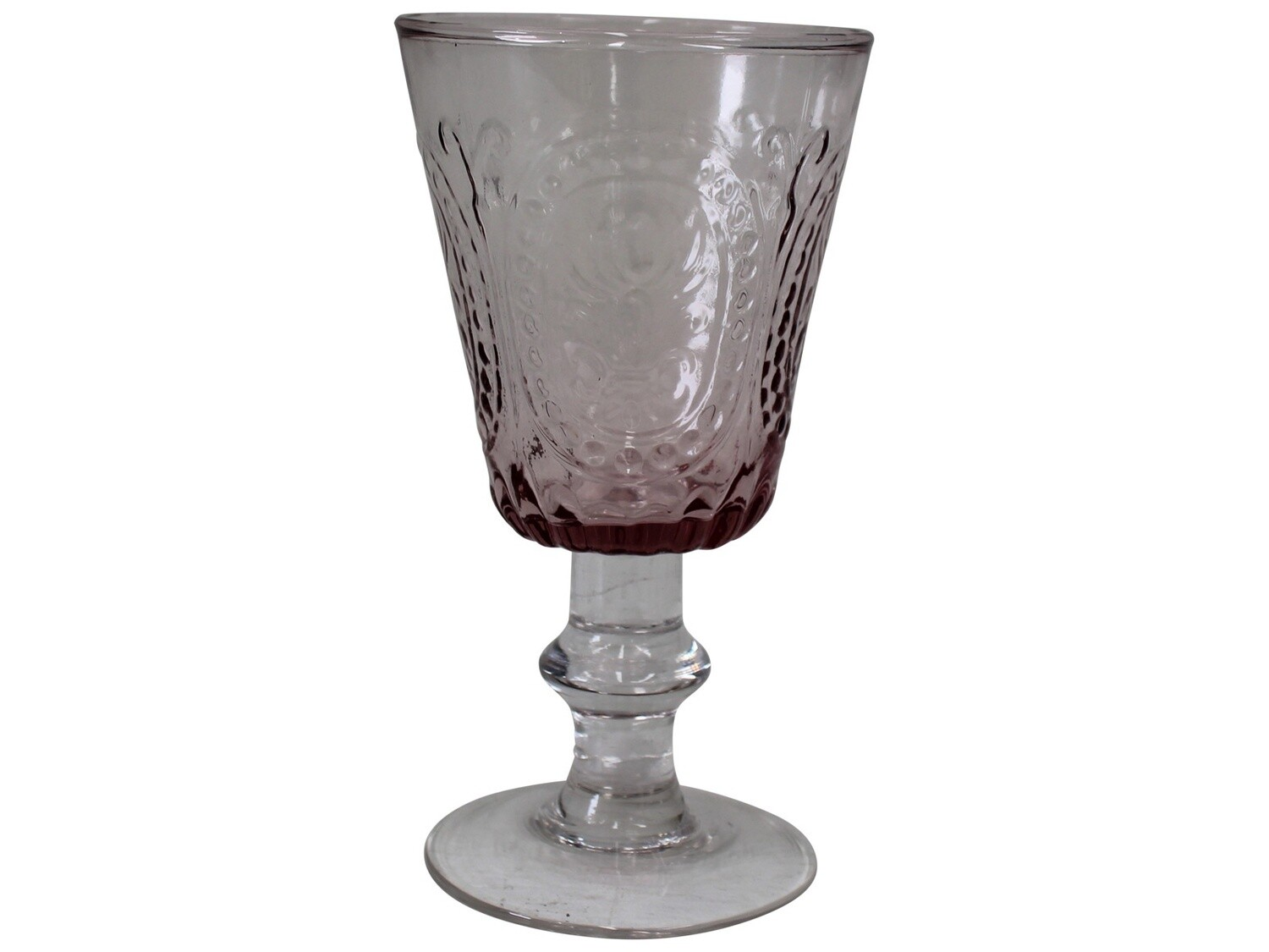 Wine Glass Capri Pink