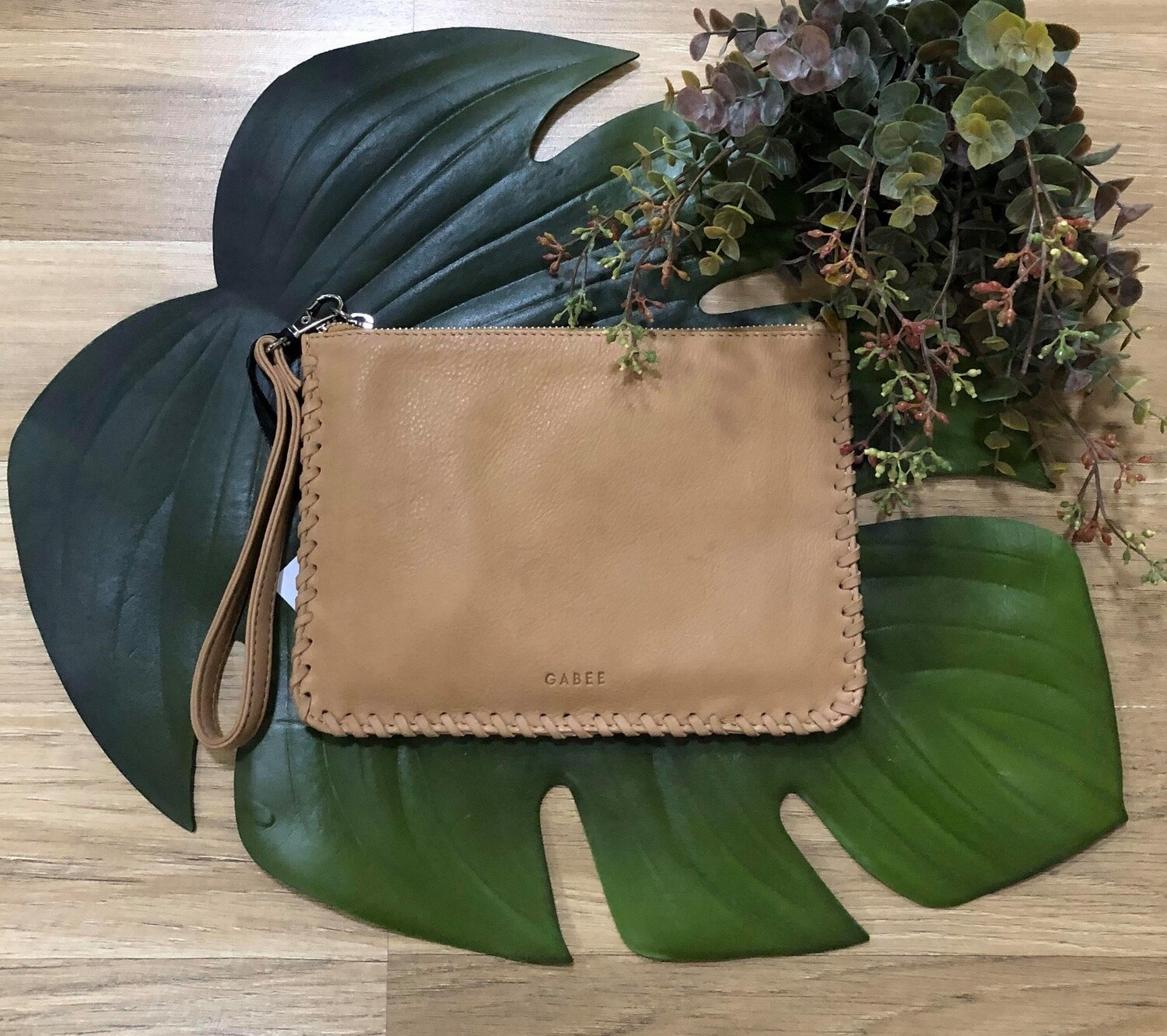 Staten Leather Pouch Buttercup
