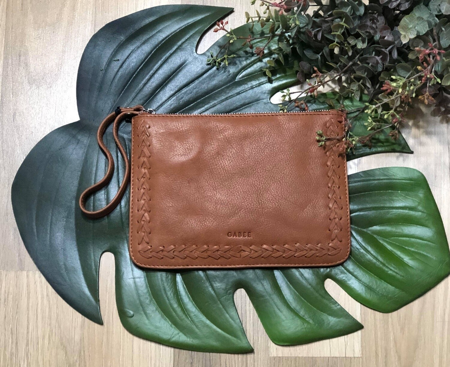 Liberty Soft Leather Pouch Tan