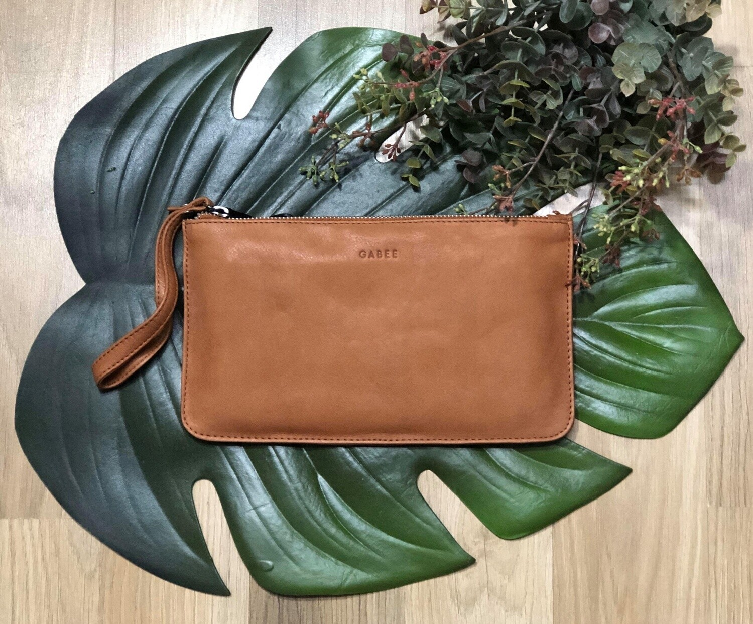 Mercer Soft Leather Pouch Tan