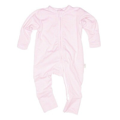 Onesie Sleepy Long Sleeve Blush