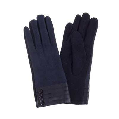 Gloves Navy 617