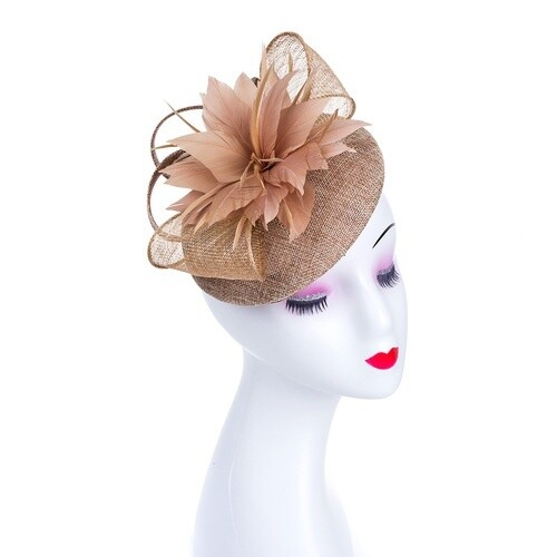 Fascinator Coffee 942