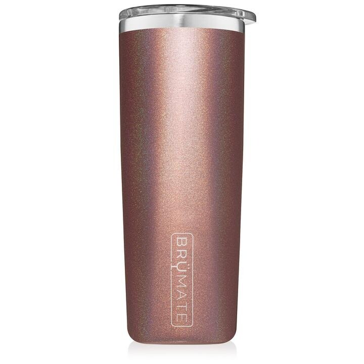 Brumate Highball Glitter Rose Gold