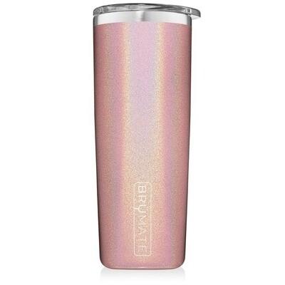 Brumate Highball Glitter Blush