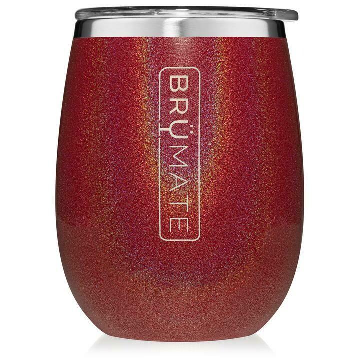 Brumate Tumbler Glitter Ruby