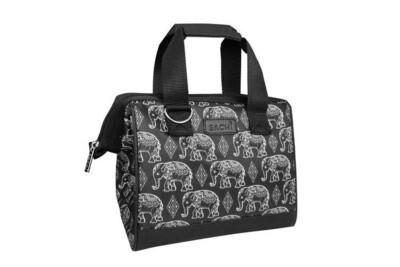 Insulated Lunch Bag-Bohemian Elephants