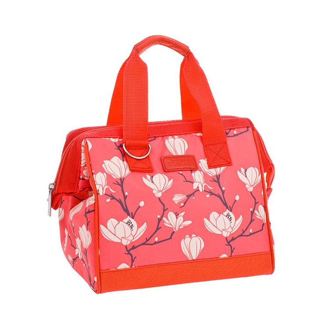 Insulated Lunch Bag-Magnolia