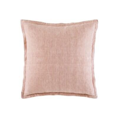 Blush Linen Cushion