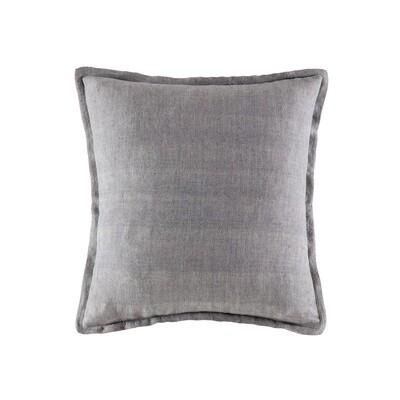 Soft Grey Linen Cushion