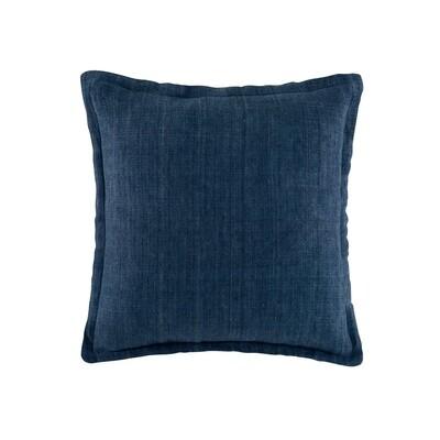Indigo Linen Cushion
