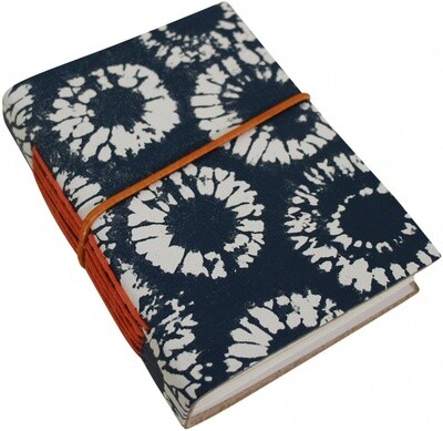 Leather Navy Notebook