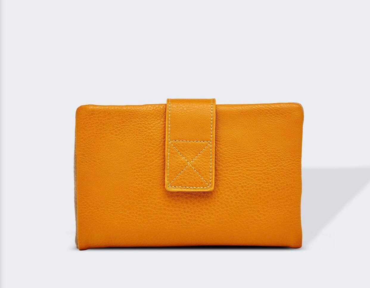 Bailey Mustard Wallet
