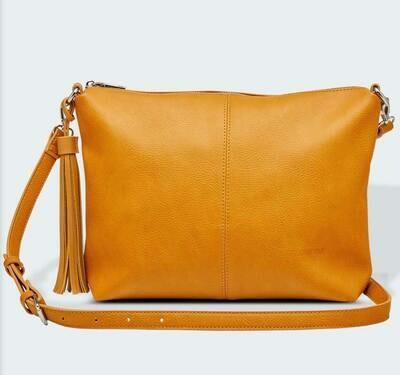 Daisy Mustard Crossbody Bag
