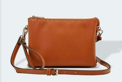 Josie Tan Crossbody Bag