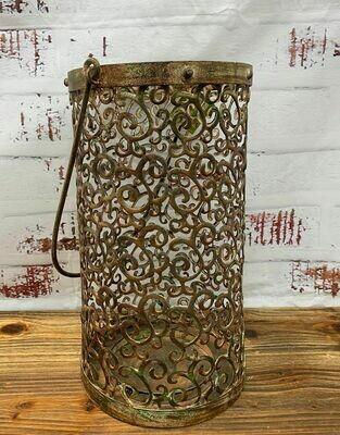 Lantern Cylinder Solid Swirl