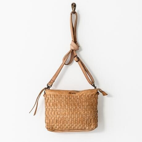 Woven Pouch Bag Natural