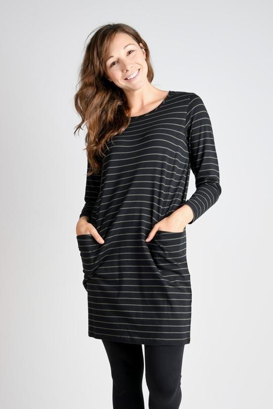 Dress Khaki Stripe