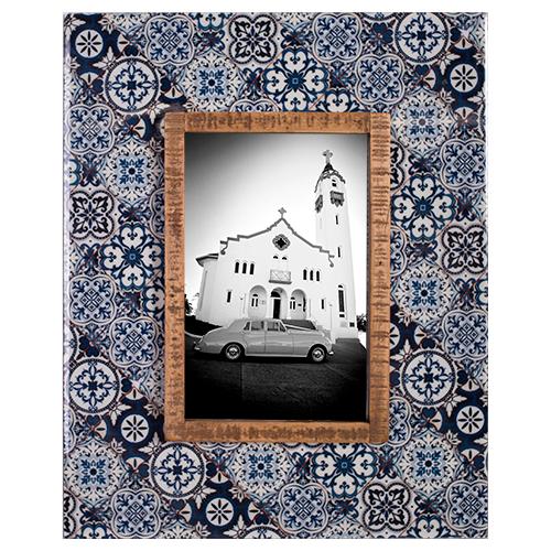 Photo Frame Blue 4x6