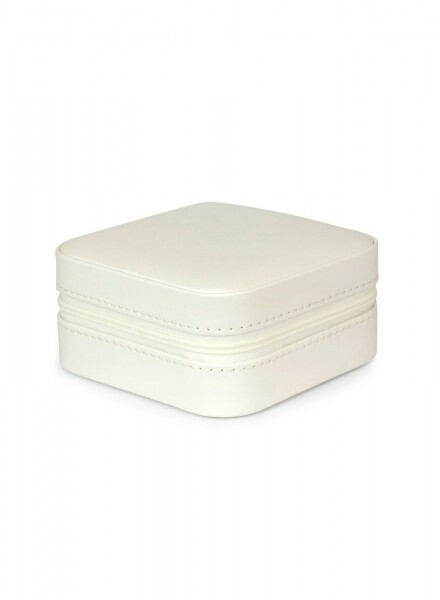 Jewellery Box Travel White Small