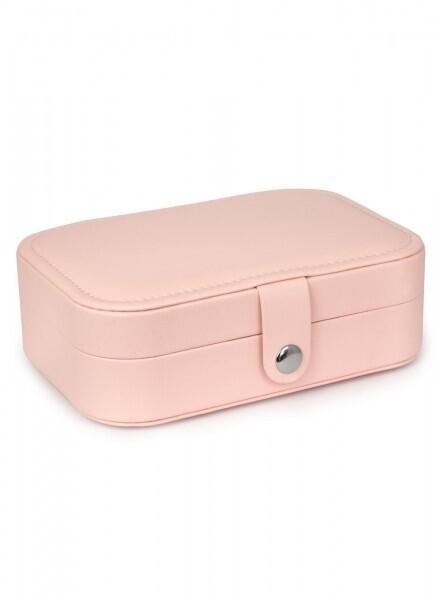 Jewellery Box Travel Pink Lg