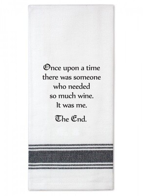 Tea Towel Once Upon A Time