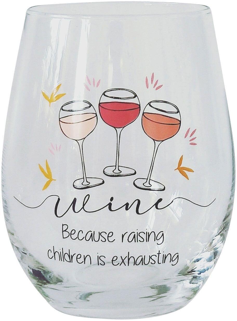 Wine Glass Raising Children