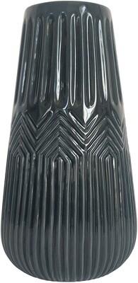 Zari Navy Vase Lg