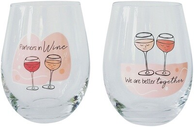 Wine Glass Better Together