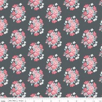 Abbies Garden Bouquet Charcoal