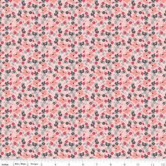 Abbies Garden Floral Pink