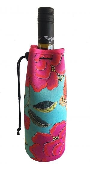 Bottle Cooler Bag Big Peony