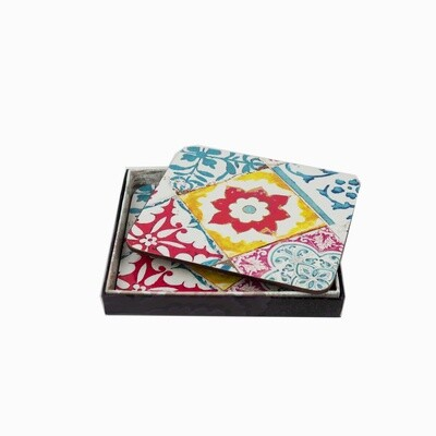 Coaster Set Azulejos