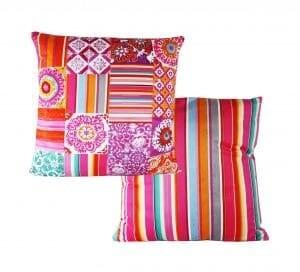 Velvet Cushion Summer