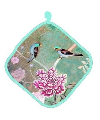 Pot Holder Chinoiserie