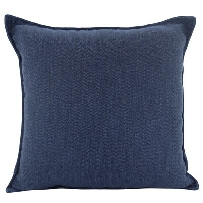 Linen Navy Cushion