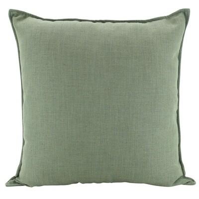 Linen Sage Cushion 55cm