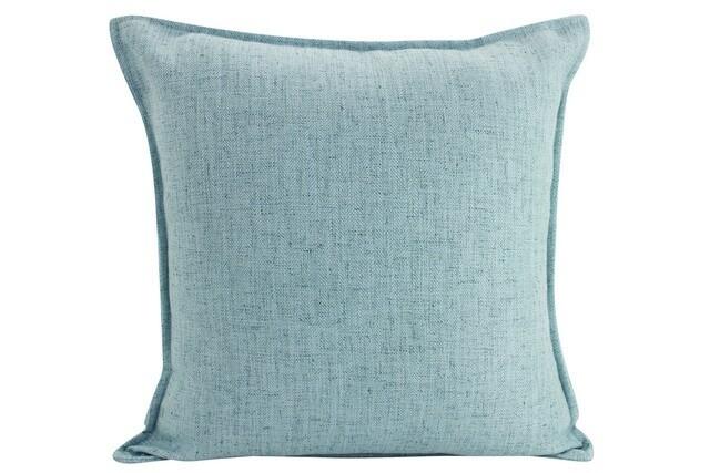 Linen Light Blue Cushion