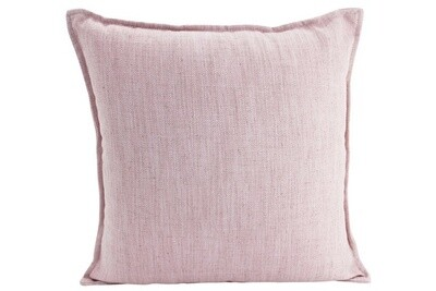 Linen Baby Pink Cushion