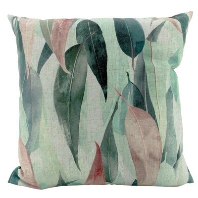 Eucalyptus Linen Cushion 50cm