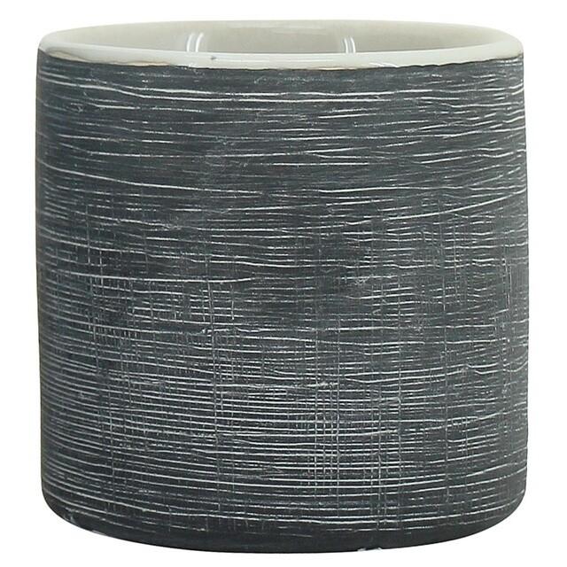 Black Scratch Pot 7cm