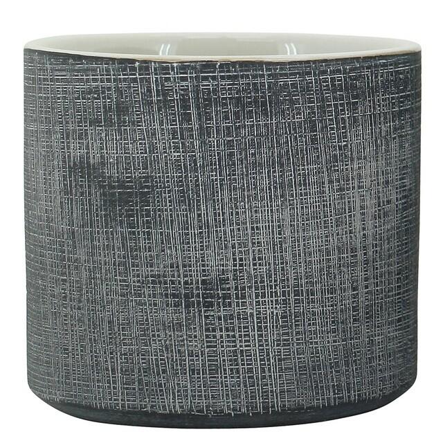 Black Scratch Pot 10cm