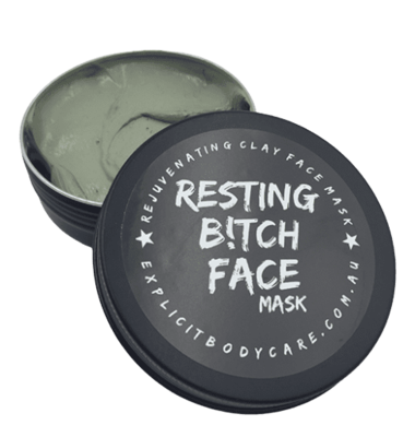 Mask-Resting Bitch Face