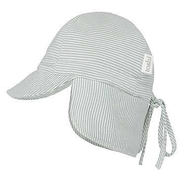 Flap Cap Baby Sage