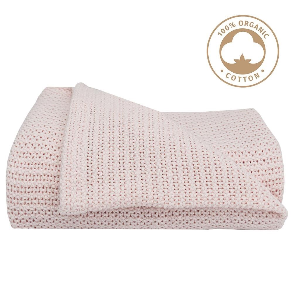 Cot Cell Blanket Rose Quartz